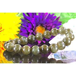 【送料無料】《珠径10mm 内径15.5cm》 ラブラドライト  パワーストーン天然石ブレスレット code4528|karen-ya