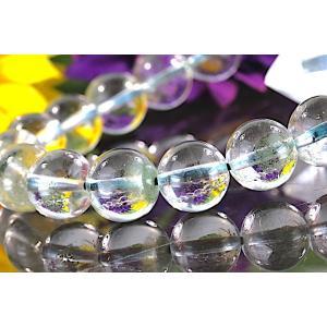【送料無料】《珠径10mm 内径16.5cm 》 ガーデンクォーツ 庭園水晶 ブレスレット パワーストーン 天然石 code5815|karen-ya