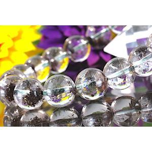 【送料無料】《珠径11mm 内径16.5cm 》 ガーデンクォーツ 庭園水晶 ブレスレット パワーストーン 天然石 code5817|karen-ya