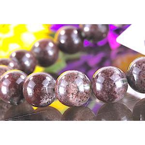 【送料無料】《珠径11mm 内径16cm 》 ガーデンクォーツ 庭園水晶 ブレスレット パワーストーン 天然石 code5818|karen-ya