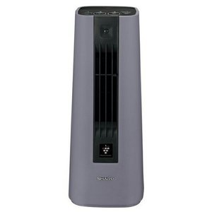 シャープ HX-HS1-H プラズマクラスター セラミックファンヒーター グレー|karimerobox