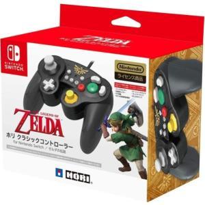 任天堂ライセンス商品 ホリ クラシックコントローラー for Nintendo Switch ゼルダ Nintendo Switch対応 karimerobox