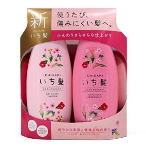 クラシエ いち髪 シャンプー&コンディショナー ペアセット ふんわりさらさらケア karimerobox