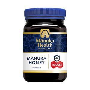マヌカヘルス マヌカハニー MGO263+ / UMF10+ 500g 正規品 ニュージーランド産|karimerobox