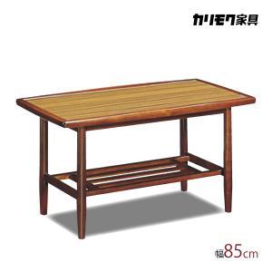 カリモク レトロ リビングテーブル TS3035CW コンパクト 幅85cm 軽量 メラミン化粧板 安心の国内生産 karimoku|karimokutokuyaku