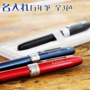 父の日 万年筆 ペン 名入れ 送料無料 プレゼント ギフト 名入れ万年筆 プレジール 全3色 karin-e
