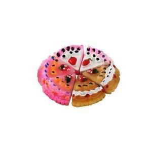 カットケーキ いちご乗せ 2個セット 約17mm |karin-style