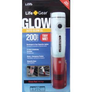 LifeGear ライフギア LED オートグローライト 充電式 非常信号灯 誘導等 懐中電灯 karin-style
