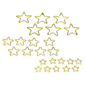 UVレジン枠  星型  3サイズ 24個セット|karin-style