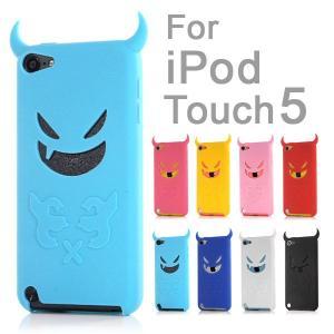 iPod touch5用ケース 悪魔デビルケースカバー|karin
