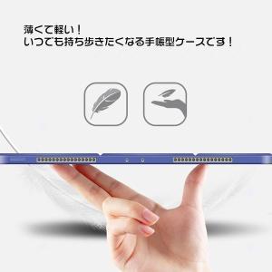 iPad Pro 11インチ 2018モデル ケース 三つ折 スタンド 手帳型ケース 保護カバー スリープ機能  |karin|15
