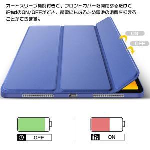 iPad Pro 11インチ 2018モデル ケース 三つ折 スタンド 手帳型ケース 保護カバー スリープ機能  |karin|18