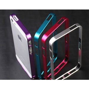 iPhone5 iphone5S用バンパーケース 保護用フレーム カバー メタリック|karin|03