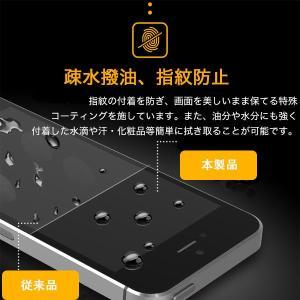 iPhone5 iPhone5S iPhone5C 液晶保護強化ガラスフィルム ブルーライトカット 厚さ0.3mm スマートフォン   ガラスフィルム|karin|03