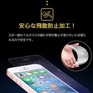 iPhone5 iPhone5S iPhone5C 液晶保護強化ガラスフィルム ブルーライトカット 厚さ0.3mm スマートフォン   ガラスフィルム|karin|05