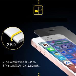 iPhone5 iPhone5S iPhone5C 液晶保護強化ガラスフィルム ブルーライトカット 厚さ0.3mm スマートフォン   ガラスフィルム|karin|06