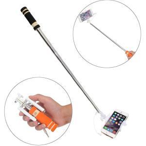 ミニセルカ棒 自撮り棒 セルカ棒 セルフィースティック 折りたたみ式 自分撮り スマホ iphone6s/6s Plus対応|karin|06