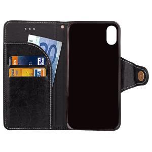 iPhone X手帳型ケース 手帳型カバー PUケース アイフォン X カバー 手帳型|karin|16