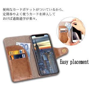 iPhone X手帳型ケース 手帳型カバー PUケース アイフォン X カバー 手帳型|karin|04