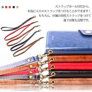 iPhone X手帳型ケース 手帳型カバー PUケース アイフォン X カバー 手帳型|karin|07