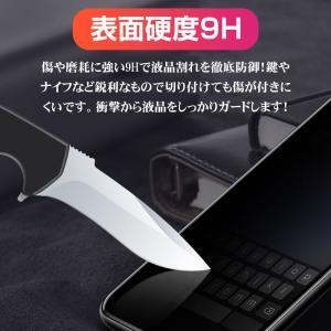 iPhone X用強化ガラスフィルム 全面フルカバータイプ 9H ソフトエッジ 液晶保護 炭素繊維 強化ガラスフィルム |karin|02
