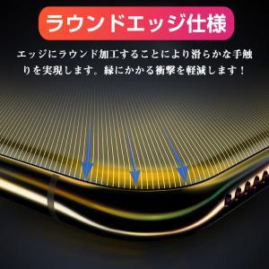 iPhone X用強化ガラスフィルム 全面フルカバータイプ 9H ソフトエッジ 液晶保護 炭素繊維 強化ガラスフィルム |karin|07