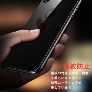 iPhone XS Max 6.5インチ 背面保護フィルム 強化ガラス 背面フィルム ガラスフィルム 9H|karin|03