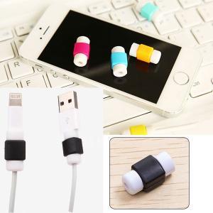 Lightningケーブル 保護 プロテクター 断線防止 アップル製品ケーブル用 コネクタ保護キャップ|karin|05