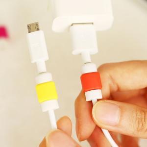 Lightningケーブル 保護 プロテクター 断線防止 アップル製品ケーブル用 コネクタ保護キャップ|karin|06