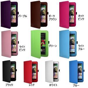Google Nexus 7(2012モデル) 第1世代  第2世代  PUレザーケース カバー|karin|02