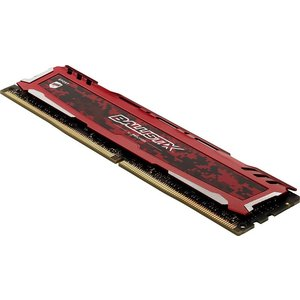 Crucial ゲーミングモデル DDR4 デスクトップメモリ 16GBキット(8GBx2) Ballistix Sport LT Red DDR4-2666 UDIMM BLS2K8G4D26BFSEK karin 02