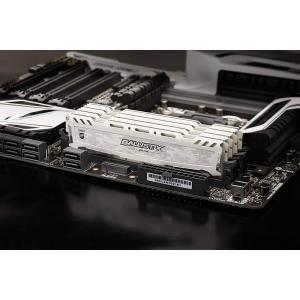 Crucial Ballistix Sport LT DDR4 メモリ Ballistix Sport LT White 8GB DDR4-2666 UDIMM BLS8G4D26BFSC |karin|04
