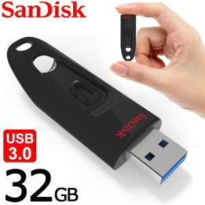 USBメモリ 32GB サンディスク Sandisk ULTRA USB3.0 高速 100MB/s 海外パッケージ品 SDCZ48-032G|karin