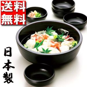 送料無料 盛鉢セット そうめん鉢 大鉢・小鉢5枚 SET 日本製 北市漆器