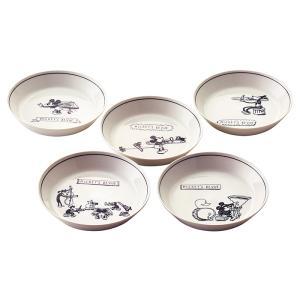 D?MF38 カレー皿セット 5P ディズニー 日本製 お皿 食器 電子レンジ対応 食洗機対応 箱入...