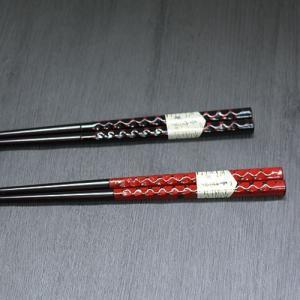赤・黒 美しい箸+木製箸置き 4点セット 福袋|karinhonpo2951|03