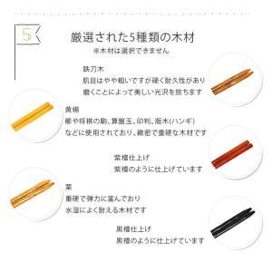 箸10膳セット 選べる 福袋 木製 箸セット メール便送料無料 正月 迎春 おせち 2020 福袋 初売り|karinhonpo2951|05