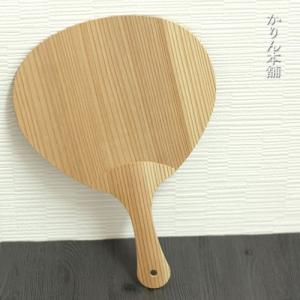 木製 うちわ 日本製 約27.5×19.2cm  国産 日本製 正月 迎春 おせち 2020 福袋 ...
