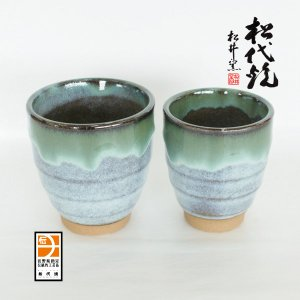 長野の工芸品 松代陶苑松井窯 松代焼 夫婦カップ|karintou001