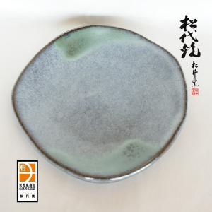 長野の工芸品 松代陶苑松井窯 松代焼 銘々皿角|karintou001