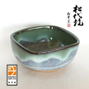 長野の工芸品 松代陶苑松井窯 松代焼 角小鉢|karintou001