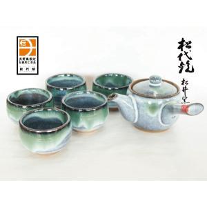 長野の工芸品 松代陶苑松井窯 松代焼 茶器セット丸|karintou001