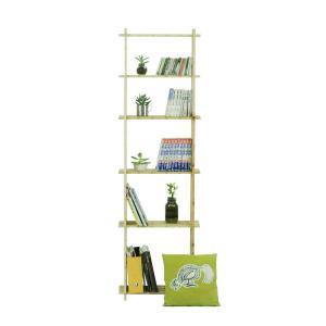 【木の組立家具・組手什kudeju】背の高い本棚|karooyaji