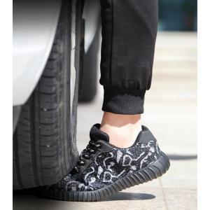 安全靴 メンズ 作業靴 メッシュ スチールトゥ 繊維ミッドソール 刺す叩く防止 耐磨耗 スニーカー ...