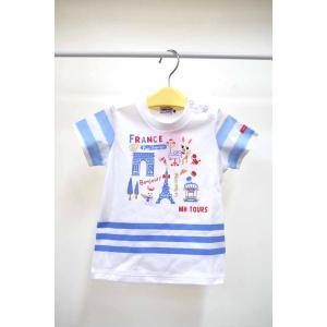 セール ミキハウス 旅するうさ子半袖Tシャツ 80cm〜90cm|kasaman