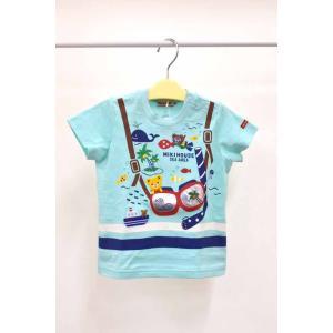 セール ミキハウス プッチー&うさ子 テーマパーク半袖Tシャツ 80cm・90cm|kasaman