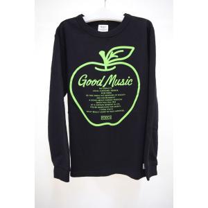 セール グルーヴィ―カラーズ GROOVY COLORS 裏毛 APPLE GOOD MUSIC スウェット 150,160cm|kasaman