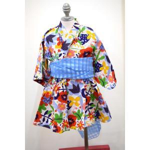 オーシャン&グランド ocean&ground GIRL'S 浴衣ワンピース90cm〜130cm|kasaman