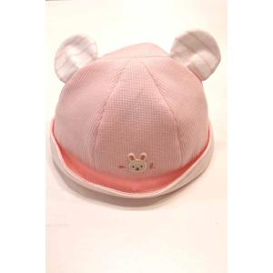 セール ミキハウス 耳付きベビー帽 S|kasaman