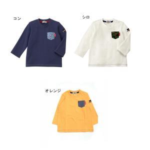 ダブルB ポケット 長そでTシャツ 80cm〜100cm|kasaman